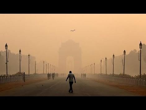 Dicke Luft in Delhi.