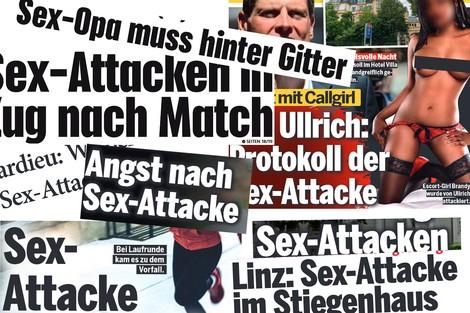 """Sex-Attacke"" statt Vergewaltigung: Wie Boulevardmedien sexualisierte Gewalt verharmlosen"
