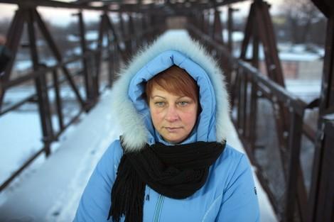 Lenas Stahlminen – Porträt der Ukraine im Porträt einer sehr hart arbeitenden Frau