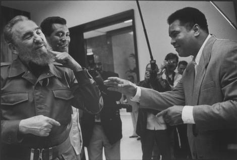 Muhammad Ali, Fidel Castro und ein Daumen aus Gummi