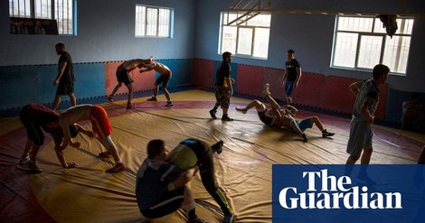 Diesen afghanischen Ringer-Club haut nichts um, auch nicht der IS