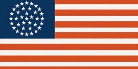 Die Flagge der USA — eine Evolution