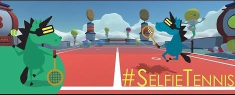 #SelfieTennis – Eines der gefährlichsten VR Games der Welt