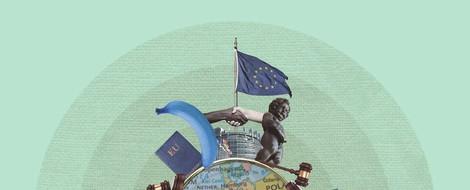Orbán bei Kohl: Die Eurosion