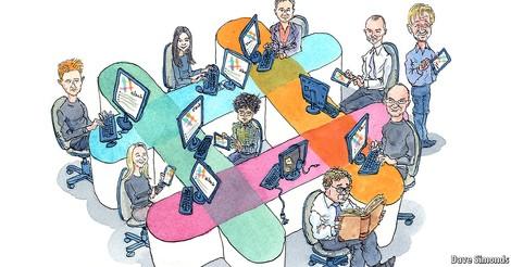Plaudereien am Arbeitsplatz: Wie Chatten die E-Mail verdrängt