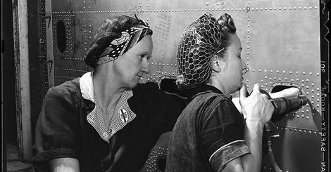 Das unvorstellbare Leben der Frauen von der Marinewerft - eine große historische Reportage von 1944