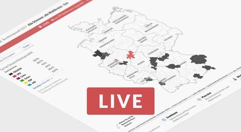 Datenjournalismus zur Bundestagswahl: Die interaktive Wahlkarte der Berliner Morgenpost
