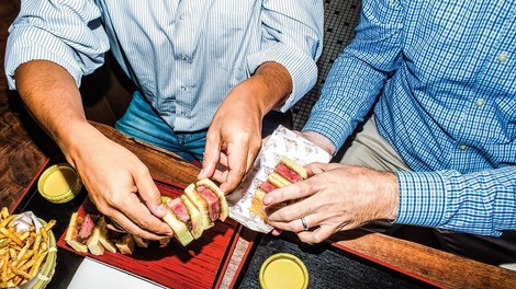 Das 180-Dollar-Don-Wagyu-Steak-Sandwich oder: die Poetik des Essens