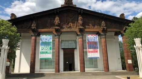 Sportkult: Wie sich FIFA und Russland in kuriosen Ausstellungen inszenieren