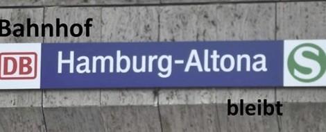 Zähes Ringen um Bahnhof Altona