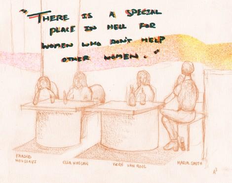 Frauen und Architektur