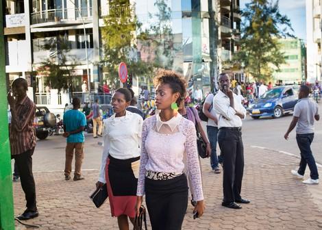 Stark und selbstbewusst: Businessfrauen in Ruanda
