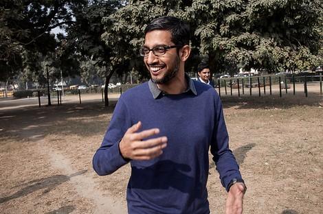 Sundar Pichai, die langweilige, aber beste Person, um Google-CEO zu sein