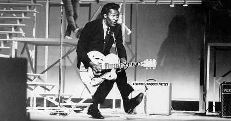 """The Man is a Mountain"" Der nun endgültig mal verstorbene Chuck Berry gepriesen von Peter Guralnick"
