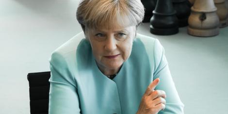 Die Kanzlerin der Krise und ihr Schlüsselsatz