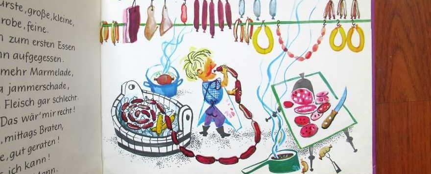 Kinderbücher 12: Metzger möcht' ich gerne sein