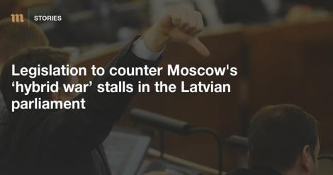 Kämpft Lettland gegen russische Propaganda - oder gegen die Meinungsfreiheit?