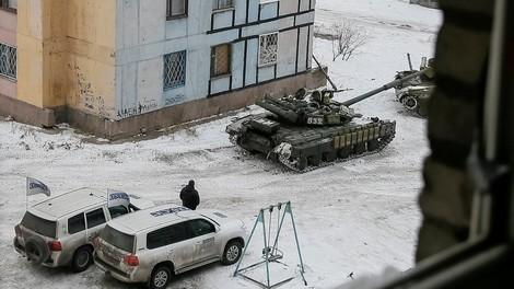 """""""Ihr dürft hier nicht lang"""" — wie Journalisten in der Ostukraine an ihrer Arbeit gehindert werden"""