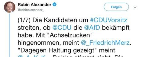 """""""Union nahm die AfD bewusst in Kauf"""""""