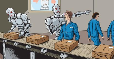 Wie die Roboter Arbeit schaffen
