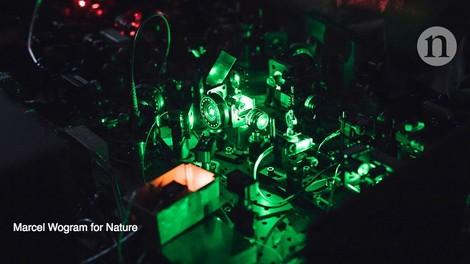 Eine Quantentechnologie, die schon auf halbem Weg anwendbar ist.