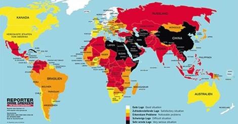 Pressefreiheit im freien Fall: In Europa regieren Hass und Hetze