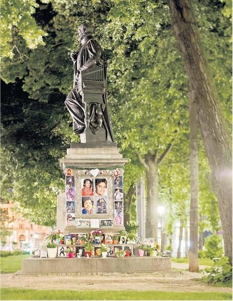 Ein Denkmal für Michael Jackson, mitten in München