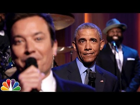 Bye bye, Barak - Obamas 'Slow Jam' in Jimmy Fallons Late Night Show