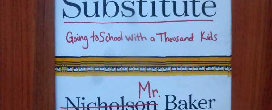 Nicholson Baker gibt Vertretungsstunden