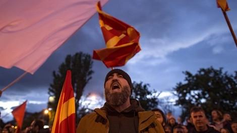 """Mazedonien: """"Bunte Revolution"""" gegen ein autoritär-mafiotisches Regime"""
