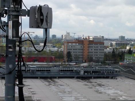 Ich sende, also bin ich. München baut sich sein WLAN-Netz selbst.