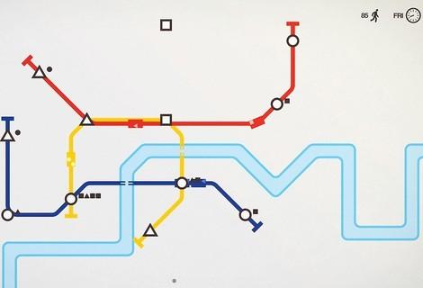 Minimalistisches Meditieren mit Mini Metro