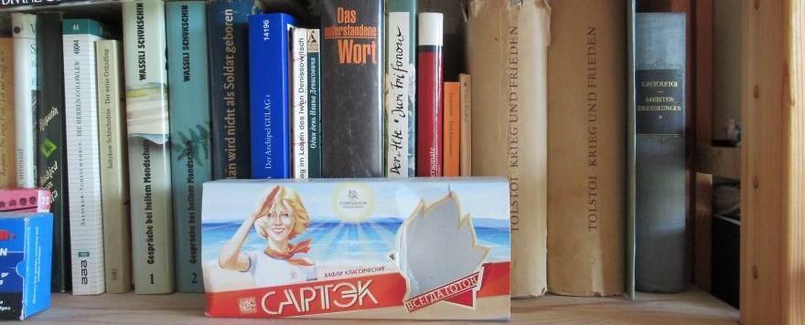 Beim Lesen von Tolstoi