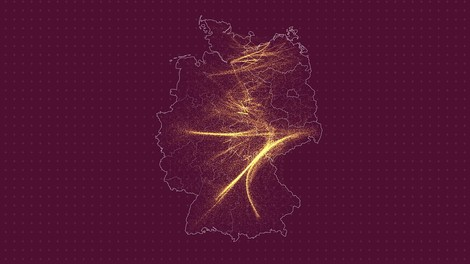 Wie ostdeutsche Regionen drei Jahrzehnte lang ihre Bevölkerung an den Westen verloren haben