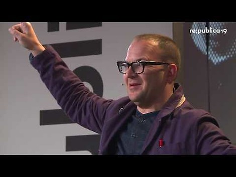 Cory Doctorow auf der re:publica – it's Monopoly Capitalism, Stupid!