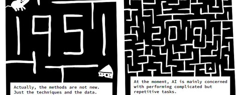 A Comic Essay on Artificial Intelligence