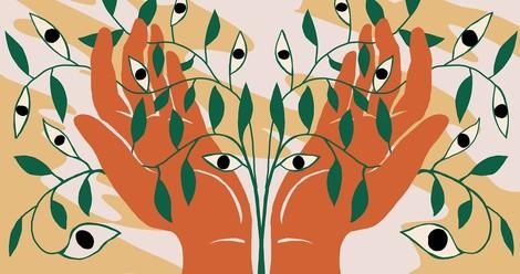 Bäume umarmen auf LSD