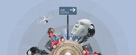 Die Zukunft der Arbeit bedeutet für uns: Wir sollten uns den Fähigkeiten der Maschinen anpassen (?)