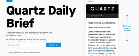 Bye, bye Quartz Brief: Gibt es keinen Markt für Nachrichten-Chat-Bots?