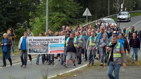 Feuer und Flamme für unsere Fabrik - der Kampf um Arbeitsplätze