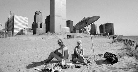 Künstler erkoren diesen Stadt-Strand im New York der '80er Jahre