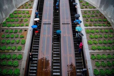 Die Geschichte der Rolltreppe