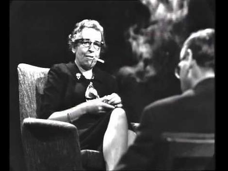 Hannah Arendt + Günter Gaus: Was politische Talkshows von heute aus den 60ern lernen können