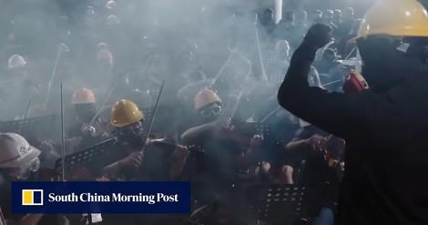 Revolutionslieder: Wie Musik die Hongkonger Proteste befeuert