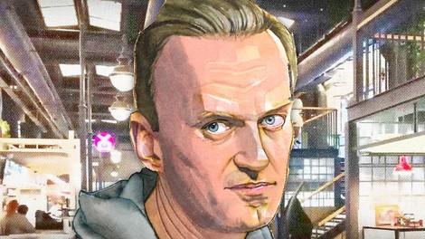Trolle im Food-Court: Mittagessen mit Alexej Nawalny