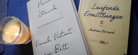 Nach Notat zu Bett vs. laufende Ermittlungen – Unzuverlässiges Tagebuch 1