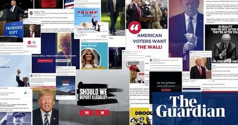 Gewinnt Trump mit einer überlegenen Facebook Kampagne wieder die Wahl?