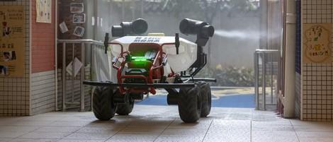Roboter hätten Potenzial, medizinisches Personal zu schützen – leider sind sie noch nicht so weit