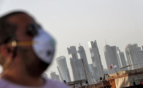 Gut vorbereitet durch Blockade-Erfahrung: Katar und Corona