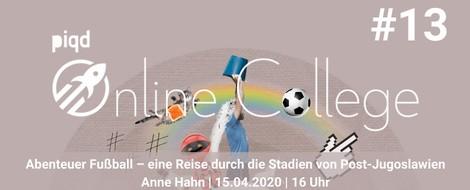 Abenteuer Fußball – eine Reise durch die Stadien von Post-Jugoslawien (Anne Hahn | 15.04. | 16 Uhr)